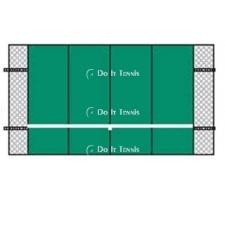 Bakko Professional Flat Series Backboard 10' x 16'