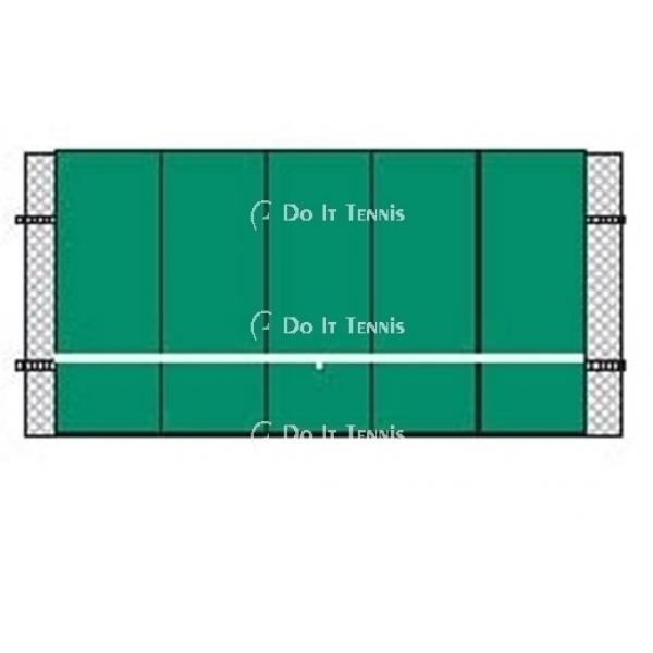 Bakko Professional Flat Series Backboard 10' x 20'