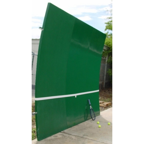 bakko single curve series backboard 10x20 tennis court equipment review