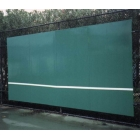 Bakko Slimline Flat Series Backboard 8' x 16' - Tennis Backboards
