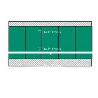 Bakko Slimline Flat Series Backboard 8' x 20'