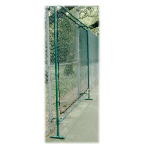 Bakko Outdoor Fence Mount Tennis Rebound Net 9.25'x 12.5'