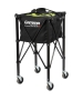 Gamma EZ Travel Cart Pro 250 Tennis Ballhopper - Ball Hoppers & Carts that Hold More than 100 Tennis Balls