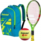 Babolat Ballfighter 17 Tennis Racquet, Red Felt Tennis Balls, Junior Backpack Bundle [copy] - Babolat Junior Tennis