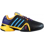 Adidas Men's Barricade 8+ Tennis Shoes (Blk/ Ylw/ Pur) - New Tennis Shoes