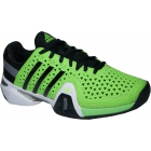 Adidas Barricade 8+ Junior Tennis Shoes (Grn/ Blk/ Gry) - New Tennis Shoes