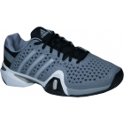 Adidas Men's Barricade 8+ Tennis Shoes (Gry/ Sil/ Blk) - Adidas Tennis Shoes