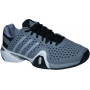 Adidas Men's Barricade 8+ Tennis Shoes (Gry/ Sil/ Blk)