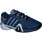Adidas Men's Barricade 8+ Tennis Shoes (Blu/ Sil/ Blk) - Men's Tennis Shoes