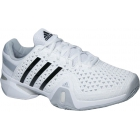 Adidas Men's Barricade 8+ Tennis Shoes (Wht/ Blk/ Onix) - Adidas Tennis Shoes