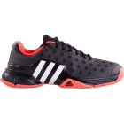 Adidas Men's Barricade 2015 Tennis Shoes (Black / Flash Red) - Tennis Shoes Sale