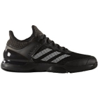 Adidas Men's Adizero Ubersonic 2 Clay Court Tennis Shoes (Black/White) - Men's Tennis Shoes