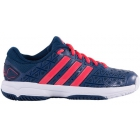 Adidas Barricade Club xJ Junior Tennis Shoe (Gray/Red/White) - Adidas Tennis Shoes