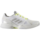 adidas Women's aSMC Barricade 2017 Tennis Shoe (Wht/Wht/Yel) - Adidas Barricade Tennis Shoes