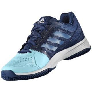 088b2767bc6 Adidas Women's Barricade Club Tennis Shoes (Mystery Blue/Blue/Aqua) $74.95