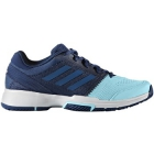 Adidas Women's Barricade Club Tennis Shoes (Mystery Blue/Blue/Aqua) - Adidas Barricade Tennis Shoes