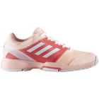 Adidas Women's Barricade Club Tennis Shoes (Coral/White/Pink) - Adidas Barricade Tennis Shoes