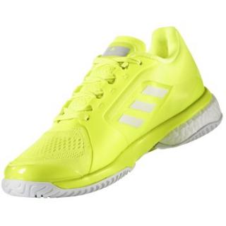 super popular c73a4 2b9c9 Adidas Womens aSMC Barricade Boost 2017 Tennis Shoe (YellowWhite)