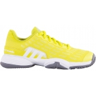 Adidas Barricade 2016 xJ Junior Tennis Shoe (Yellow/White/Grey) - New Tennis Shoes