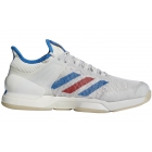 Adidas Men's Adizero Ubersonic 50YRS Ltd Tennis Shoe (Legacy/Signal Blue/Grey One) - Types of Tennis Shoes