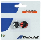 Babolat Custom Dampener (Black/Red) - Tennis Racquet Vibration Dampeners