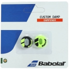 Babolat Custom Dampener (Black/ Yellow) - Tennis Racquet Vibration Dampeners