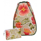 40 Love Courture Passion Flower Betsy Tennis Backpack - Designer Tennis Bags
