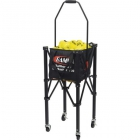 Gamma EZ Travel Cart 150 + EZ Basket 150 Tennis Balllhopper Combo - Gamma Tennis Ballhoppers