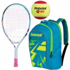 Babolat B'Fly, Blue Backpack, Red Felt Balls - Junior Bundle Packs