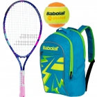 Babolat B'Fly, Blue Backpack, Orange Balls Bundle - Junior Bundle Packs