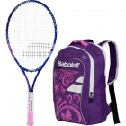 Babolat B'Fly Tennis Racquet, Purple Backpack Bundle - Shop the Best Selection of Tennis Racquets