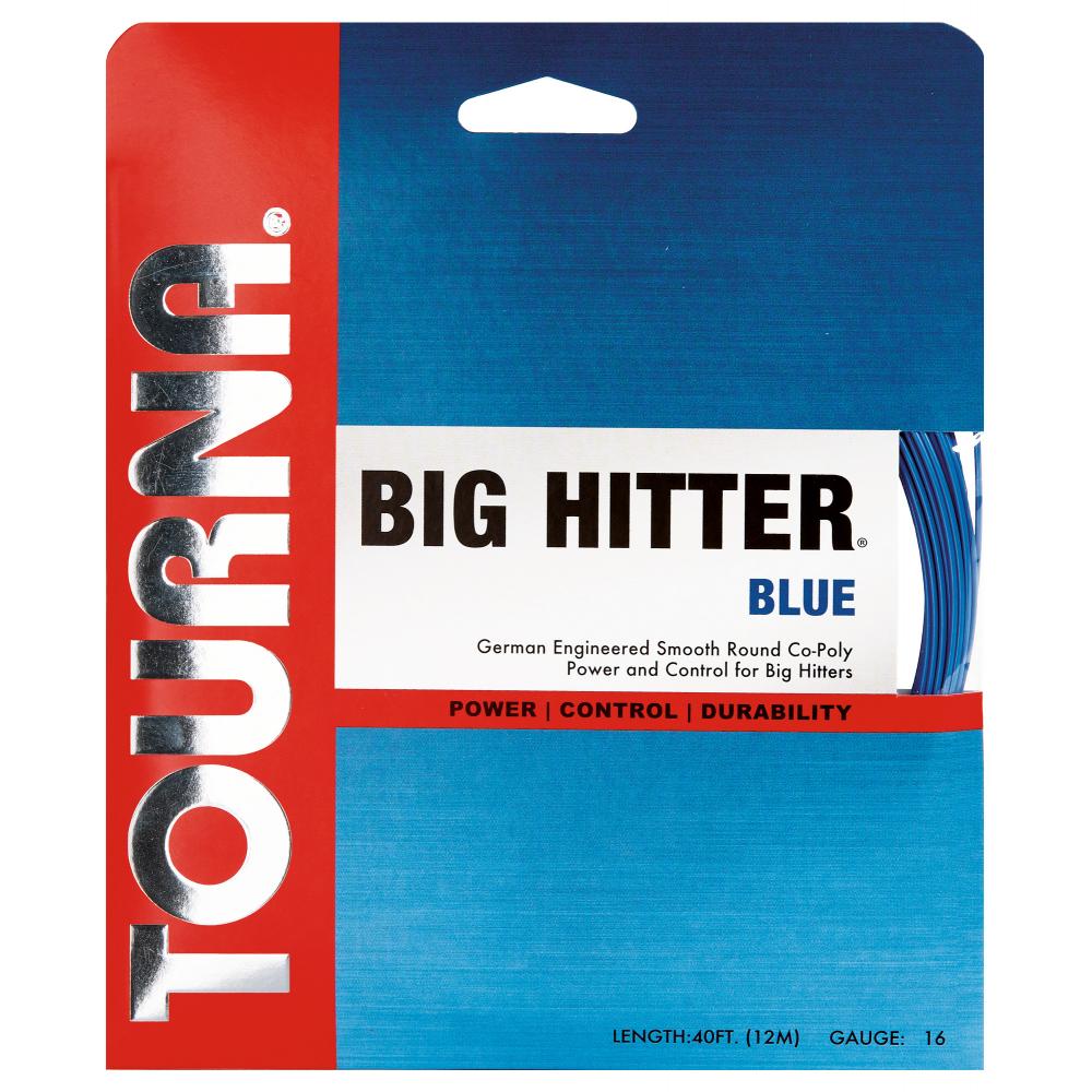 Tourna Big Hitter Blue 16g Tennis String (Set)