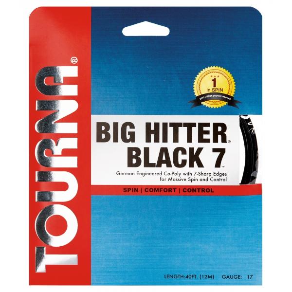 Tourna Big Hitter Black 7 17g Tennis String (Set)