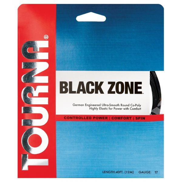 Tourna Big Hitter Black Zone 17g Tennis String (Set)