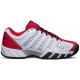 K-Swiss Men's Bigshot Light 2.5 Tennis Shoes (White/ Red/ Black) - K-Swiss Tennis Shoes
