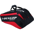 Dunlop Biomimetic Tour 10 Racquet Thermo (Red) - Tennis Racquet Bags