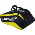 Dunlop Biomimetic Tour 10 Racquet Thermo (Yellow) - Tennis Racquet Bags