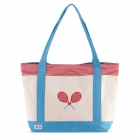 Ame & Lulu Bitsy Tennis Lovers Tote Bag - Ame & Lulu Tennis Lovers Tote