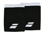 Babolat Jumbo Wristband (Black/White) - Tennis Apparel Brands