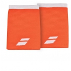 Babolat Jumbo Wristband (Flame/White) - Tennis Apparel Brands