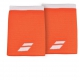 Babolat Jumbo Wristband (Flame/White) - New Style Tennis Apparel