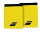 Babolat Jumbo Wristband (Yellow/Black) - Babolat Headbands & Wristbands