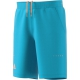 Adidas Men's Barricade Bermuda Short (Samba Blue/Glow Orange) - Tennis Apparel Brands