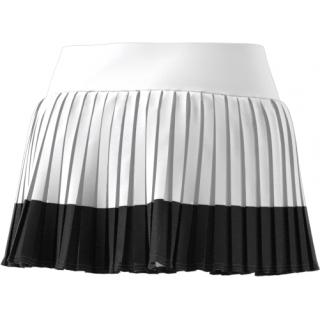 68cf6fd6f8 adidas Women's Stella McCartney Barricade Tennis Skirt (White/Black ...