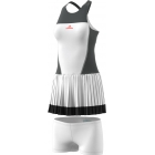 adidas Women's Stella McCartney Barricade Tennis Dress (White/Solid Grey) - Adidas Women's Tennis Dresses, Jackets & Pants