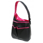 40 Love Courture Black Faux Sophi Hobo - 40 Love Courture Sophi Hobo Tennis Tote