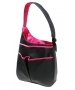 40 Love Courture Black Faux Sophi Hobo - 40 Love Courture