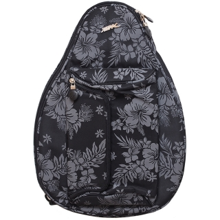 Jet Black Hawaiian Mini Backpack