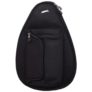 Jet Black Mesh Mini Backpack