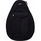 Jet Black Mini Backpack - Designer Tennis Backpacks